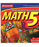Math Grade 5 ( Software by McGraw-Hill ) - $4.95
