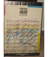 1987 Festival International De Jazz De Montreal Poster - $87.25
