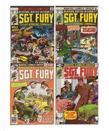 Marvel Sgt. Fury And His Howling Commandos Lot Issues #145, 146, 149, & 162 - $9.95
