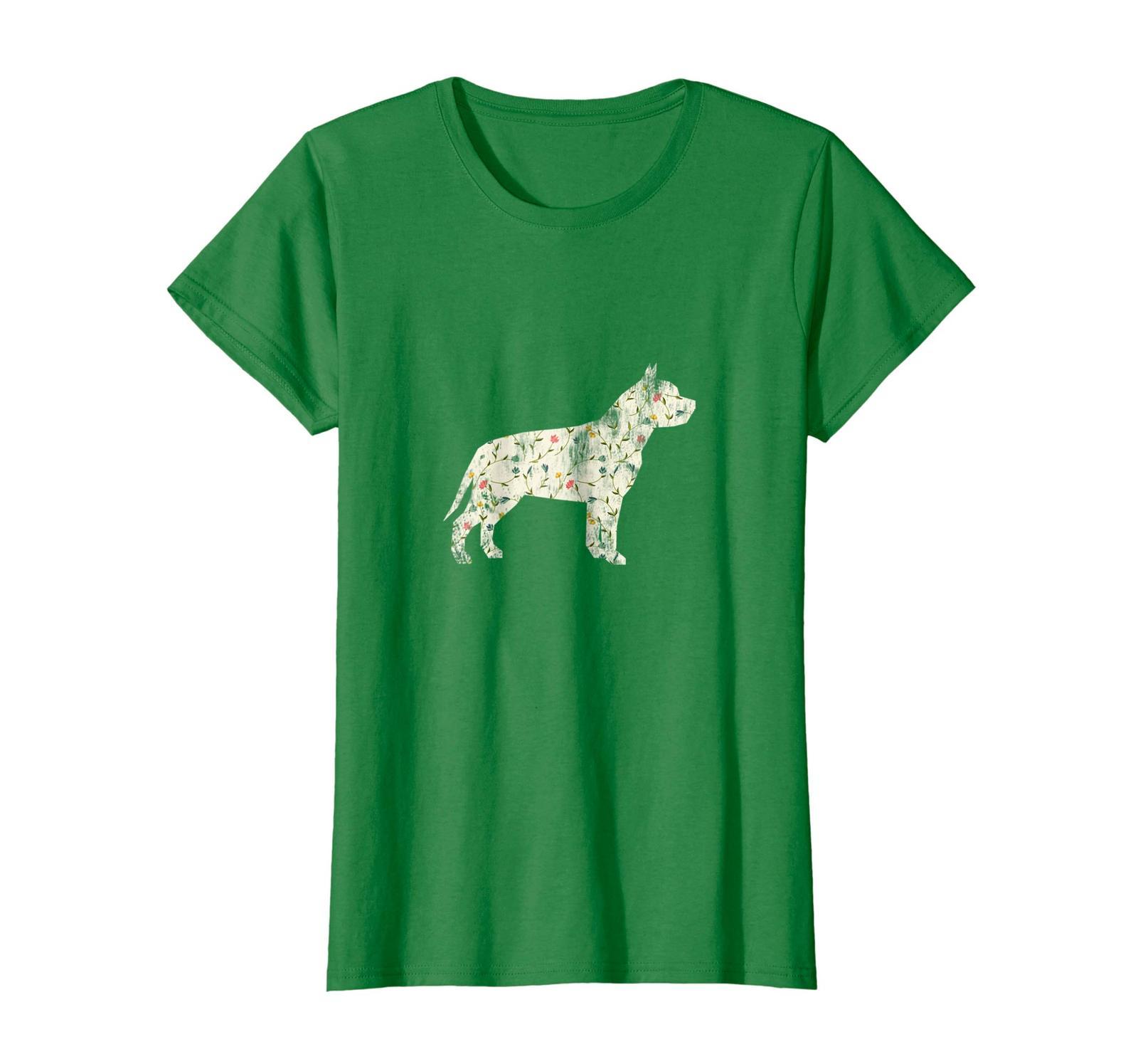 Dog Fashion - Vintage Floral Pitbull Shirt Dog Lover Dog Owner Gift Wowen image 5