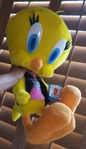 """Plush """"Tough Chick"""" Tweety Bird multi colored doll Six Flags 45th Annive... - $37.61"""