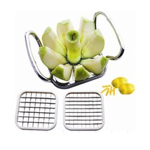 Apple Cutter Slicer 5Pcs Vegetable Fruit Pear Potato Cutter Strip Kitche... - €15,63 EUR