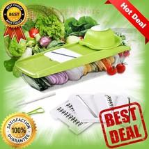 Mandoline Slicer, Adjustable Vegetable Slicer, Vegetable Grater& Mandali... - $22.40