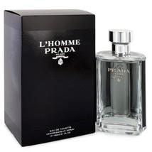 Prada L'Homme Prada Cologne 5.1 Oz Eau De Toilette Spray image 2