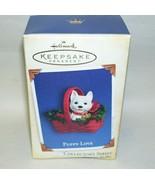 2005 Hallmark Ornament Puppy Love - $14.95