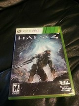 * HALO 4 * FOR XBOX 360 * 2 DISC SET AND CASE * GENTLY USED *  - $14.84