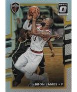 LeBron James Donruss Optic 17-18 #27 Silver Prizm Cleveland Cavs LA Lakers - $85.00