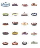 World Flags FAIR TRADE Wax COTTON Thai WRISTBAND Handcrafted Bracelet Wr... - $13.19