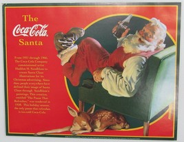 "Lot of 5 Coca-Cola ""The Coca-Cola Santa"" Posters - NEW  FREE SHIPPING - $11.88"