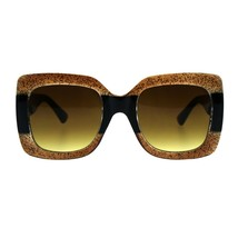 Thick Oversized Square Frame Sunglasses Womens Fashion Shades UV 400 - $11.95