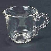 Vintage Imperial Clear Glass Candlewick Small Creamer 6 oz - $6.92