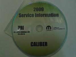 2009 Dodge Caliber Service Shop Repair Manual Cd Dvd Dealership Brand New 2009 - $197.99