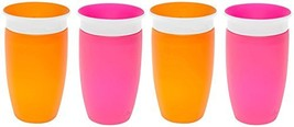 Munchkin Miracle 360 Sippy Cup - Pink/Orange - 10 oz - 2 ct - 2 pack - $38.44