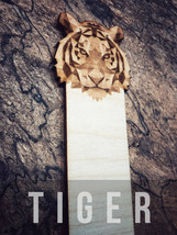 Engraved Tiger Bookmark - $10.00