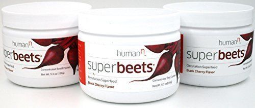 Super Beets Nitric Oxide Booster | Superfood | Cherry! | 30 servings 3 Pack!