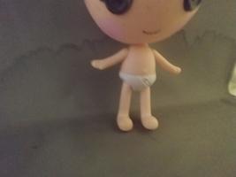 "Lalaloopsy MGA Little Doll Trinket Sparkles Original Outfit 8"". - $9.00"