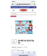 Pretend Play-Get Well First Aid Kit (Ages 3+) Melissa And Doug - $26.19