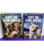 Spy in the Wild: Part One & Part Two DVD 2017 David Tennant BBC Earth - $19.79