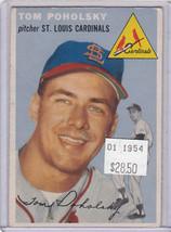 1954 Topps 142 Tom Poholsky  Not Graded 01 - $18.06