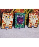 NINTENDO POKEMON CHARACTERS GAME FREAK MOVABLE CARDS FROM BURGER KING - $19.65