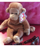 BONGO the Ape, rare, retired and with errors, Original Beanie and very c... - $5,412.26