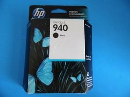 HP 940 Black Officejet Ink Cartridge Genuine Sealed April 2014 C4902AN - $7.71