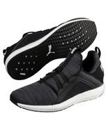 Puma Mega Nrgy Heather Knit Mens Running Sneaker, Black, Sz 8 - $39.59