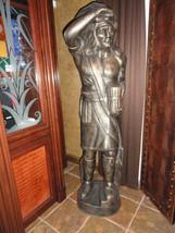 aluminum statue hand painted - $2,500.00