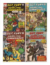 Marvel Sgt. Fury And His Howling Commandos Lot Issues #83,84, 86, & 90 - $9.95