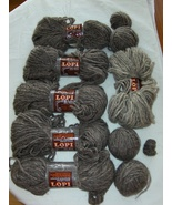 Lopi 100% New Wool Party Reynolds Yarn 7 Skein Lot Iceland Sheep  - $34.99
