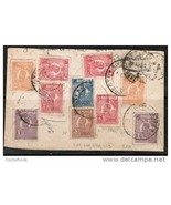 ROMANIA 1924 Bucharest to Montreal COVER (w/ 10 Ferdinand stamps)  (Cove... - $14.80