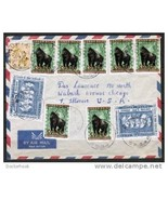 CONGO Scott # 345 (7) and BELGIAN CONGO #301(2) & #274 on 1961 AIR COVER... - €12,70 EUR