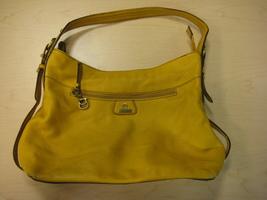 Etienne Aigner Yellow Leather Handbag - $20.00