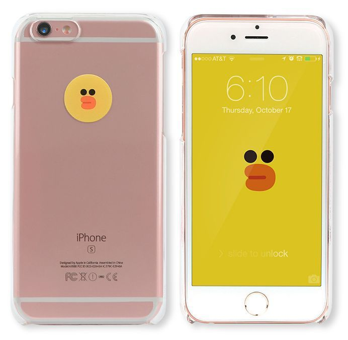 LINE Friends Character SALLY iPhone 6/6S Sticker Decor Case Phone Cover Mobile