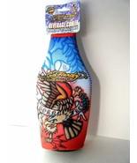 Ed Hardy Designs Zippered Beverage Cooler Born Free Eagle Design New Wit... - $7.87