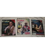 3 Guitar Player Magazines 1983 1984 Hall Muddy Waters ACDC - $24.95