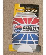 Charlotte Motor Speedway Hugger Can Cooler NIP - $4.25