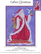 Father Christmas JE028 cross stitch chart Joan Elliott Designs - $14.00