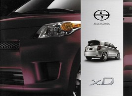 2012 Scion xD parts accessories brochure catalog Toyota TRD 12 - $7.00