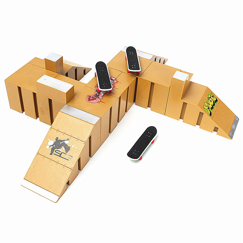 Skate Park Ramp Set For Tech Deck Fingerboard Finger Board - Ultimate Parks 92C