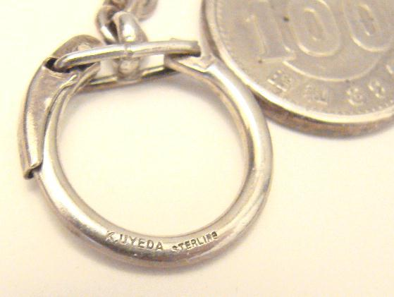 STERLING 1964 OLYMPIC KEY CHAIN