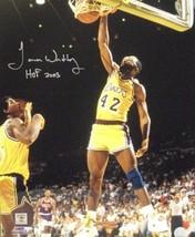 James Worthy signed Los Angeles Lakers 16x20 Photo HOF 2003 - £41.98 GBP