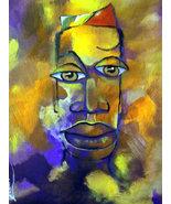 Original 8x10 African American Portrait Canvas Wall Art  - $19.00