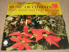 Music of Christmas Percy Faith LP Vinyl LE 10082 - $17.25