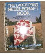 Doubleday The Large Print Needlecraft Book - 1988 - $14.50