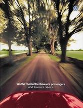 1997 VOLKSWAGEN dlx US brochure GTI GOLF JETTA PASSAT CABRIO VW - $9.00