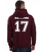 SALVATORE 17 BACK only The Vampire Unisex hoodie MAROON Diaries - $31.00+