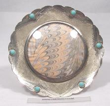 VINTAGE STERLING ROUND PICTURE FRAME - £73.13 GBP