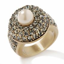 "Heidi Daus ""Tailored Made"" Crystl Ring size 12 - $56.78"