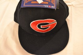 Georgia Bulldog Cap/Hat-59 Fifty Collegiate New Era-Size: 7 1/2-100% Wool-NEW - $19.99